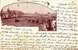1211/ Ostende, Oosteinde, Paardenrace ? 1898 - Oostende
