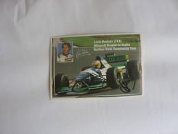 Autographe - Automobile - Luca Badoer - Car Racing - F1
