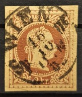 AUSTRIA 1876/80 - WIEN Cancel On Postcard 2kr - Used Stamps