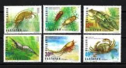 BULGARIE CRUSTACES 1996 (85) N° Yvert 3682 à 3687 Oblitéres Used - Usati