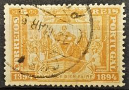 PORTUGAL 1894 - Canceled - Sc# 97 - 5r - Gebruikt