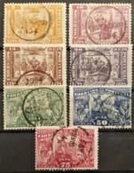PORTUGAL 1894 - Canceled - Sc# 97, 98, 99, 100, 101, 102, 103 - Gebraucht