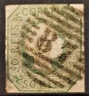 PORTUGAL 1855 - Canceled - Sc# 7 - 50r - 1855-1858 : D.Pedro V