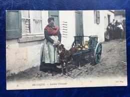 """""""Laitière Flamande Avec Attelage De Chien En Tournée"""" """"(2159)--1905 - Artisanat"""