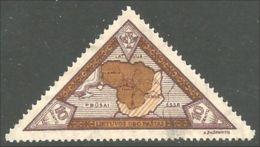 576 Lithuania Lietuva 1932 Carte Map (LIT-38) - Lithuania