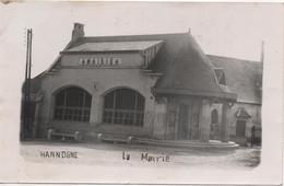 08  Hannogne St Martin   Carte Photo  La Mairie - Autres Communes