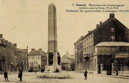 Hasselt Monument Des Limbourgeois Tombés Pour La Patrie 1914-1918 Circulée - Hasselt