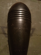 8cm  Grenade Neutralisé...  Zunden Fusee Projektil Obus IIIII - Armes Neutralisées