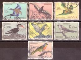 Angola  1951 -  Aves De Angola # Birds Of Angola # Cote € 19.45 - Angola