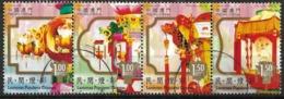 Macau Macao – 2006 Chinese Popular Lanterns Used Set - Gebraucht