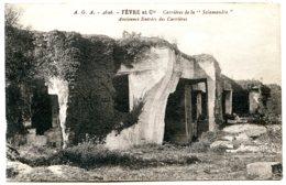 16720 SAINT-MÊME-LES-CARRIÈRES - La Salamandre Fèvre Et Cie - Ancienne Entrée - Sépia Foncé - Autres Communes