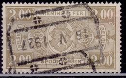 Belgium, 1924, Parcel Post/Railway, 2fr, Sc#Q156, Used - Parcel Post & Special Handling