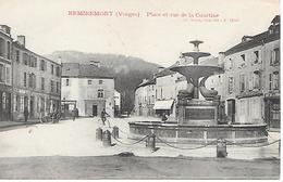 88    Remiremont    Place & Rue De La Courtine - Remiremont