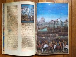 (manuscrit, Troie) Histoire De La Destruction De Troye La Grant. Reproduction Du Manuscrit Illustré D'enluminures, 1973. - Histoire