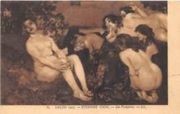 "ILLUSTRATEUR - ETIENNE CSOK - ""LES VAMPIRES"" - FEMMES - NU FEMININ - SALON 1907 - Illustrateurs & Photographes"