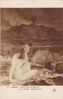 "ILLUSTRATEUR - C. H. DUFAU - ""RADIOACTIVITE"" - FEMME - NU FEMININ - SORBONNE, SALLE DES AUTORITES - Illustrateurs & Photographes"