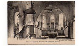 80 - Intérieur De L'Eglise De BEUVAINCOURT Sur BRESLE (A60) - Autres Communes