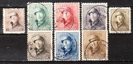 165/72  Roi Albert Casqué - Bonnes Valeurs - Oblit. - LOOK!!!! - 1919-1920 Roi Casqué