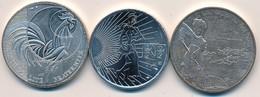 J91 - Monnaie En Argent - Lot De 3 Pièces De 10,00 Euros - Une Pièce De 2009 Et Deux De 2016 - Poids Total 45,8 Gr. - Frankreich