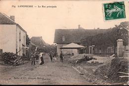 LANDRESSE-LA RUE PRINCIPALE - Francia