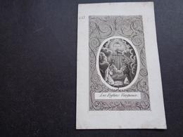 Devotieprentje ( 1494 )  Image Pieuse Religieuse - Images Religieuses