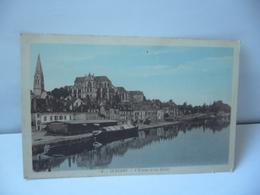 .42. AUXERRE 89 YONNE L'YONNE ET LES QUAIS  CPA EDITION BATUT LIB AUXERRE - Auxerre
