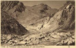 CHAMONIX LE TORRENT DES GLACIERS ET LES CHAPIEUX  RV - Chamonix-Mont-Blanc