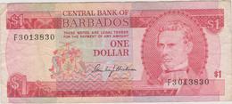 Barbades - Billet De 1 Dollar - Samuel Jackman Prescod - P29 - Barbados