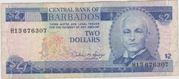 Barbades - Billet De 2 Dollars - John Redman Bovell - P42 - Barbados