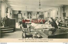 SL 41 BLOIS. Salle Travail Couvent Notre-Dame De La Providence Avec Bonnes Soeurs - Blois