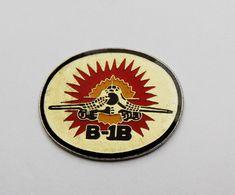 Pin's AVION De Combat B 1B -vd2 - Pin's