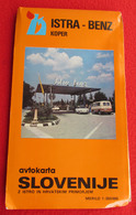 SLOVENIA - AVTO KARTA, AUTO ROAD MAP - Roadmaps