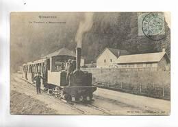 88 - GERARDMER - Le Tramway à Retournemer - Beau Plan - Gerardmer