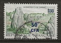 REUNION CFA: Obl., N° YT 377, TB - Reunion Island (1852-1975)