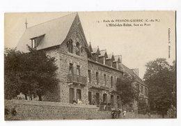 Ref 201 - Rade De PERROS-GUIREC - L'Hôtel Des Bains Face Au Port - Perros-Guirec