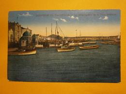 Salonique Débarcadère De La Tour Blanche,écrite Environ 1918,très Bel état,pas Commun,envoi En Lettre économique 0,95€,p - Grèce