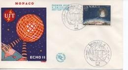 MONACO FDC   COSMOS    N° YVERT ET TELLIER  665  1955 - FDC