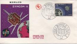 MONACO FDC   COSMOS    N° YVERT ET TELLIER  6654 1955 - FDC