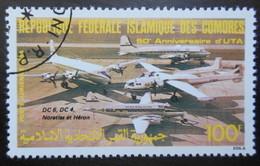 36 République Fédérale Islamique Des Comores  Anniversaire UTA - Comoros