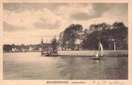 SONDERBURG - HAFENEINFAHRT 1914 /ak367 - Nordschleswig