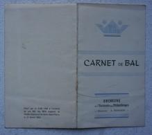 HAINE SAINT PIERRE Théâtre Communal Carnet De Bal Orchestre De L'Harmonie Des Philanthropes 195212,5x7 - Sin Clasificación
