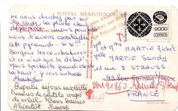 Griffe : Voie Inconnue à Epinay-sur-Seine Le Préposé Chef Sur Carte Postale Du Mexique - 1961-....