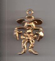 REF MON3  : Pendentif 3.3 Cm Lucky Luke Dalton Dargaud 1990 MORRIS - Statuettes En Métal