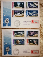 FDC BIG SALE Hungary 1969. Space - Moon Project Set On FDC Michel: 2547-2554 / 7.50 - FDC