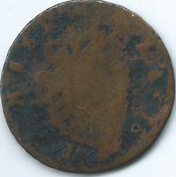 Ireland / Hibernia - 1781 -½ Penny - George III - KM140 - Ireland