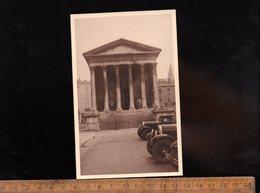 NIMES Gard 30 : La Maison Carrée Vers 1930 Photo Carte X2 - Nîmes