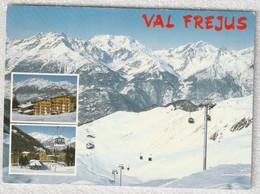 73 - Val Frejus - La Station Les Pistes Depuis Le Télécabine De Punta Bagna - France