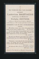 LUDOVICUS BASTIAENS  KESSEL - MORTSEL  1917  62 JAAR OUD - Overlijden