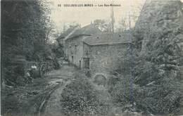 CPA 71 Saône Et Loire Couches Les Mines Les Bas Meleaux - France