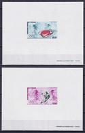 CHAD 1972, Mi# 486-487, Deluxe Blocks, Sport, Olympics Sapporo - Invierno 1972: Sapporo